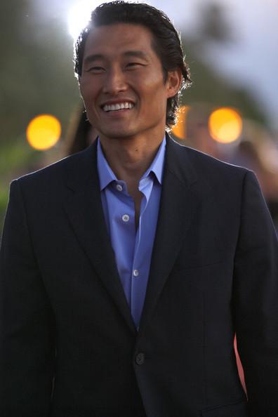 Daniel Dae Kim at the 'Hawaii 5-0′ Premiere on Waikiki 海滩