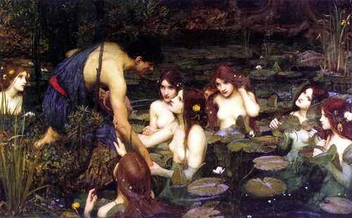 """""""Hylas and the Nymphs"""""""