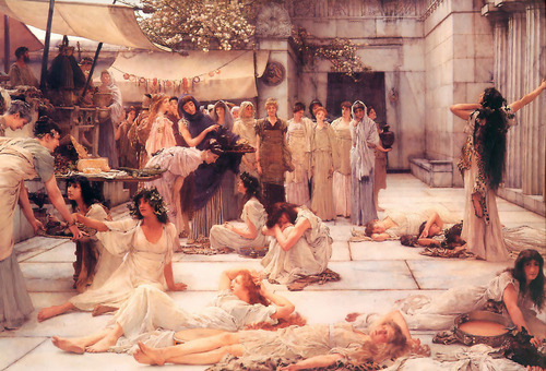 """The Women of Amphissa"""