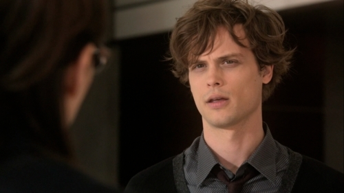 Dr. Spencer Reid wallpaper entitled 5x22 The internet is forever