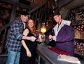 A Very Pregnant Kelly Preston and John Travolta visit The Wizarding World of Harry Potter  - celebrity-couples photo