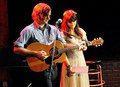 Actress Zooey Deschanel and Death Cab For Cutie lead singer Ben Gibbard  - celebrity-couples photo