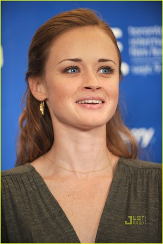 Alexis Bledel@'Conspirator' Conference in Toronto, September 11
