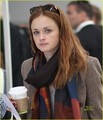 Alexis Bledel@Pearson International Airport on September 13 - alexis-bledel photo