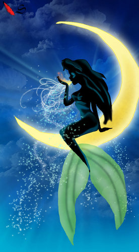 Ariel on Dreamworks Moon