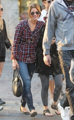 Ashley Greene at The Grove