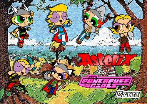 Asterix Powerpuffs