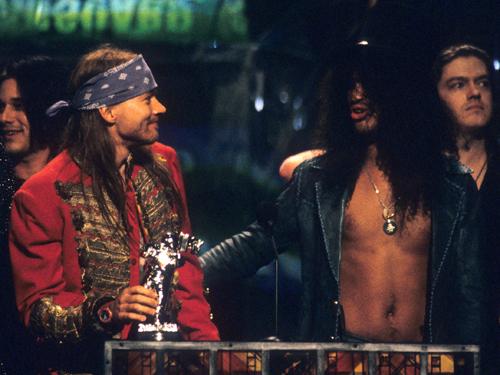 Axl Rose and Slash