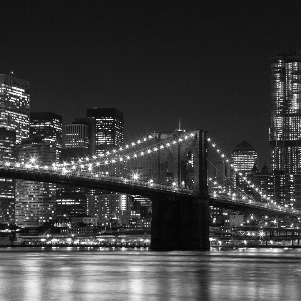 BROOKLYN BRIDGE - Black and White Photography Photo ...
