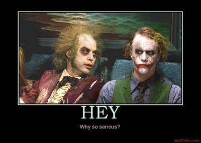 Beetlejuice and Joker