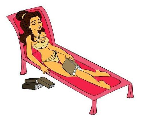 Belle suntanning
