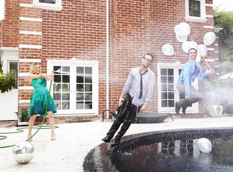 Big Bang Theory TV Guide Photoshoot 2010