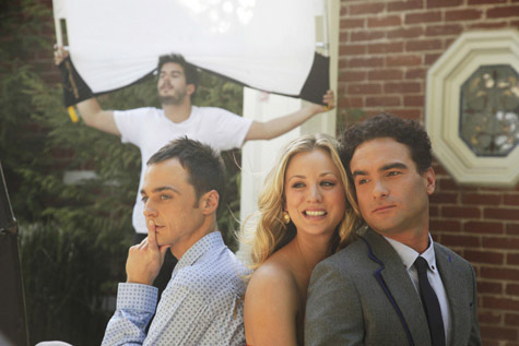 Big Bang Theory TV Guide Photoshoot 2010