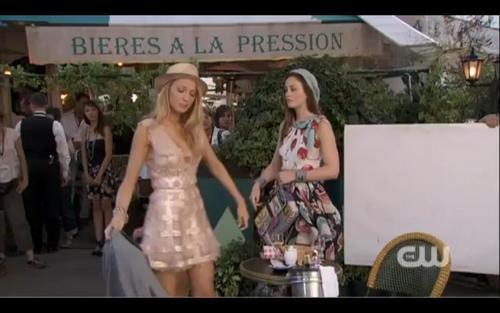 Blair and Serena in season 4