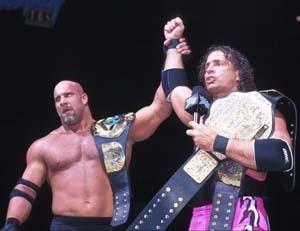 Bret Hart & Goldberg