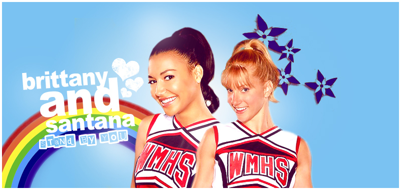 Brittana Glee Fan Art 15505028 Fanpop