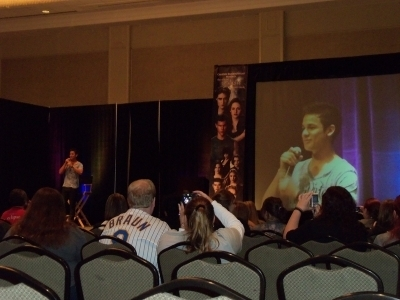 "Bronson Pelletier, Kiowa Gordon and Michael Welch - ""Eclipse"" Convention in Chicago"