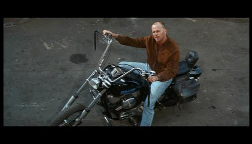 Bruce Willis wallpaper possibly with a motorcyclist titled Bruce Willis as Butch Coolidge in 'Pulp Fiction'