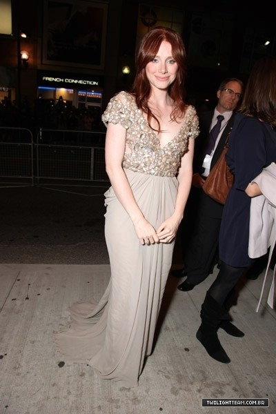 Bryce Dallas - Premiere of 'Hereafter' at the 2010 Toronto International Film Festival