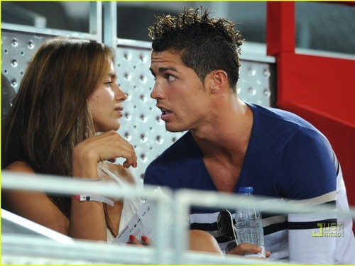 Cristiano Ronaldo images CRISTIANO AND IRINA HD wallpaper and background photos