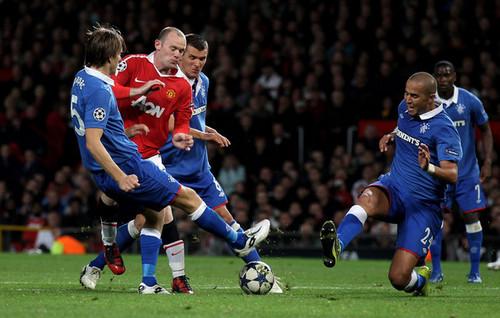 Champions League - Manchester United v Rangers (September 14)