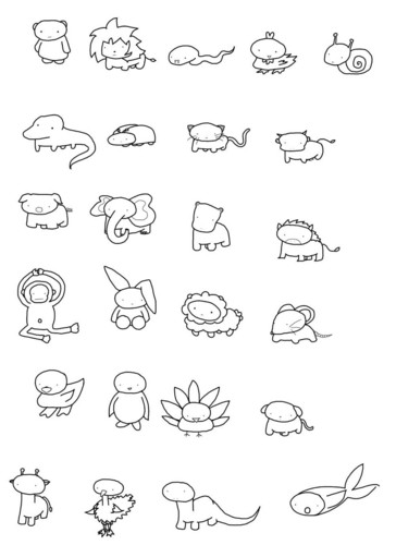 Chibi Animals
