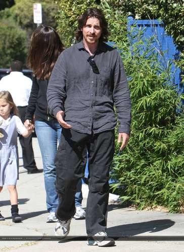 Christian Bale in Santa Monica, CA - September 10, 2010