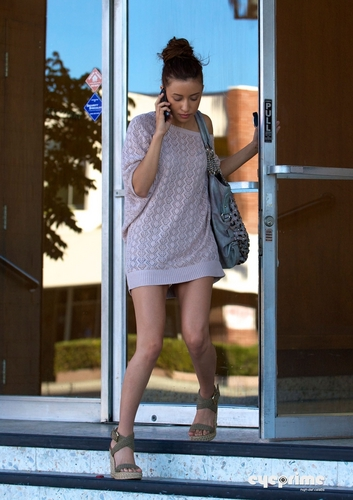 Christian Serratos - Candid
