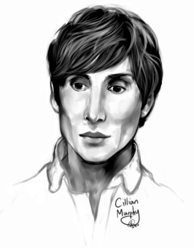 Cillian Murphy, digital sketch