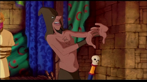 Clopin Topless YAY - clopin-trouillefou Screencap