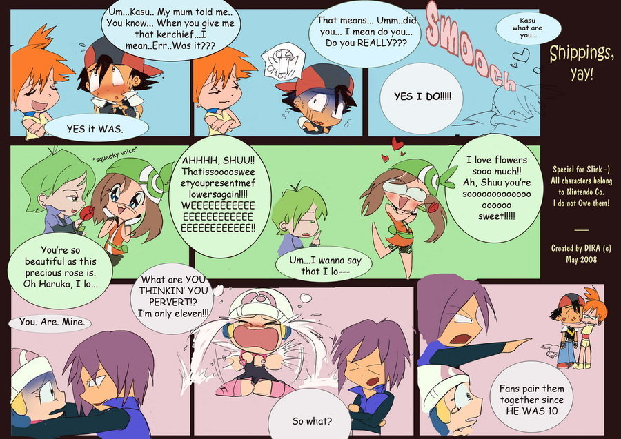 Funny Pokemon Comics Misty