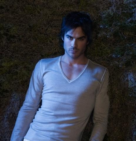 damon vampire diaries. Damon PROMOTIONAL POSTER