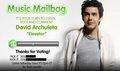 David Archuleta's Elevator on Radio Дисней Музыка Mailbag :)