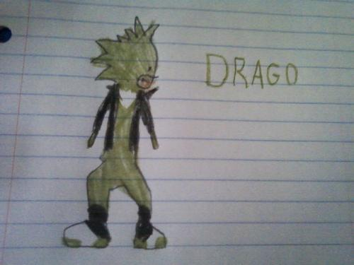 Drago The Hedgehog
