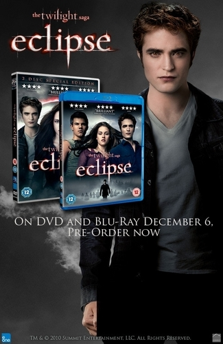 Eclipse DVD UK Promotion poster