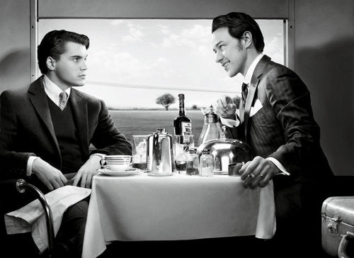 Emile Hirsch and James McAvoy