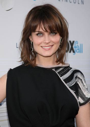 Emily Deschanel - HQ Images Of The Fox Fall Party