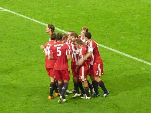 FC Bayern München(2) - As Rom(0)