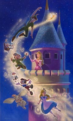 Flying to Fantasyland