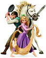 Flynn and Rapunzel :) - tangled photo