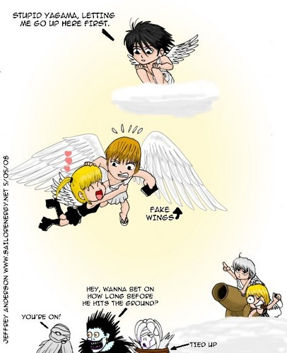 Funny Death Note Comic