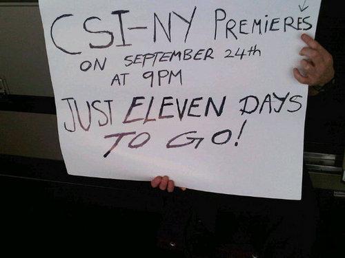 Gary Sinise - Twitpic CSI - NY