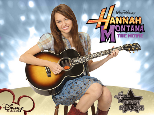 Hannah Montana the movie 바탕화면 의해 dj as a part of 100 days of Hannah!!!