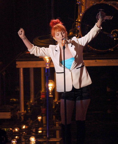 Hayley mtv Video musik Award 2010