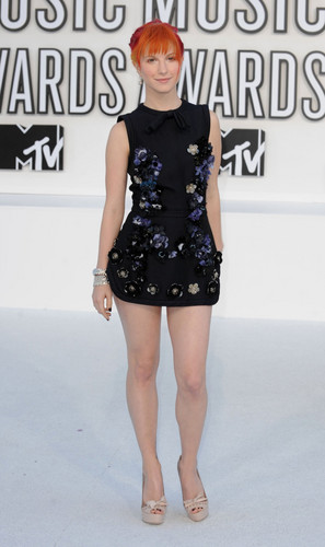 Hayley at MTV VIdeo muziki Awards