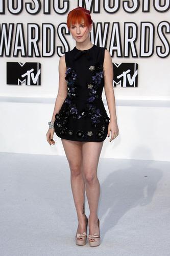 Hayley at Video موسیقی Awards 2010