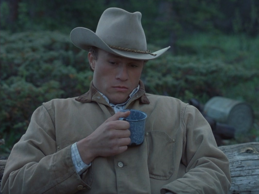 Heath ledger brokeback mountain naked