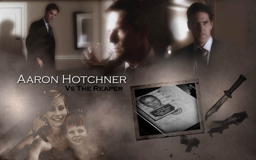 SSA Aaron Hotchner fond d'écran probably with a sign entitled Hotch fond d'écran