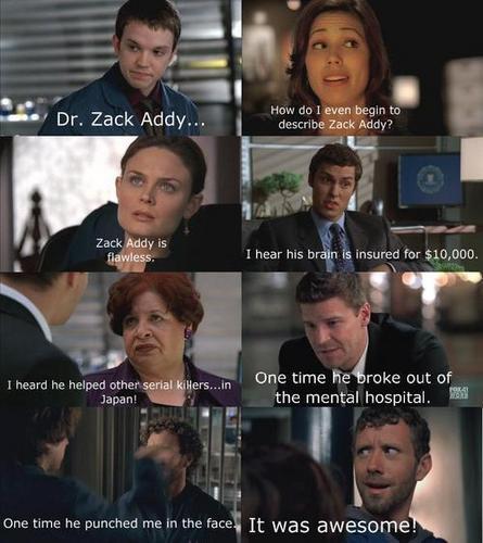 How do I even begin to describe Zack Addy?