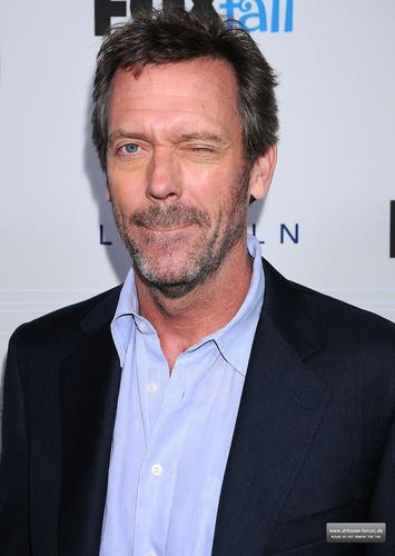 Hugh Laurie-Fox Fall Party 2010